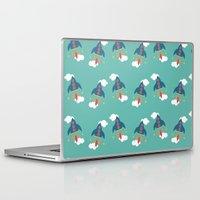 rocket Laptop & iPad Skins featuring Rocket by Kathrin Legg