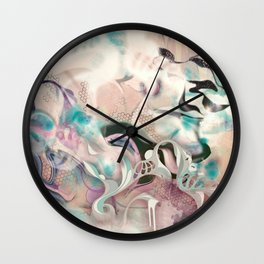 Fluidity Wall Clock