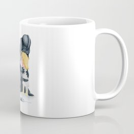 enemies hug I Coffee Mug