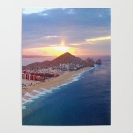 Cabo Sunset Poster