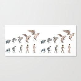 Darwin's Inspiration Mug Canvas Print