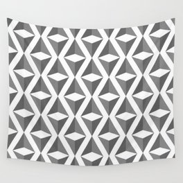 Abstract 3d grainy Wall Tapestry