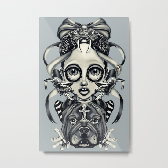 """Tattoeums III"" Metal Print"