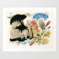 Crab & Slug Art Print