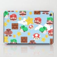 super mario iPad Cases featuring Super Mario by Clef