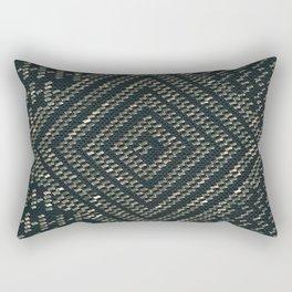 Black Assuit Rectangular Pillow