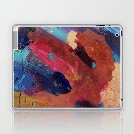 New Beginnings - Mixed Media Painting -Abstract Art Laptop & iPad Skin