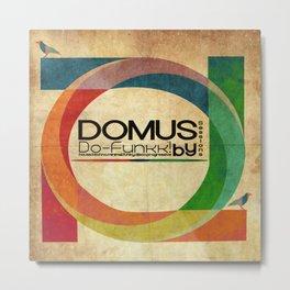 Domus Sessions Metal Print