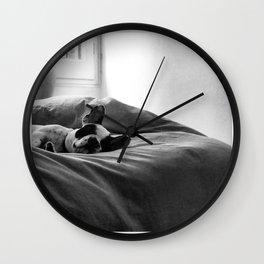 sleeping higgins Wall Clock