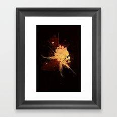 Pain Pleasure Framed Art Print