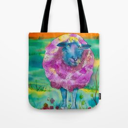 Mrs Sheep Tote Bag