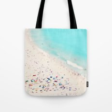 beach love III square Tote Bag