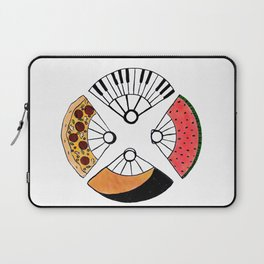 4 fire fans for any case Laptop Sleeve
