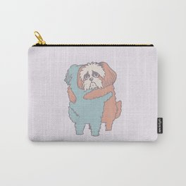 Shih Tzu Hugs Carry-All Pouch