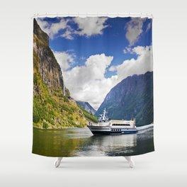 Gudvangen Shower Curtain
