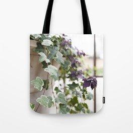 Trailing Ivy Tote Bag