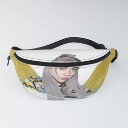 Billie Eilish Artwork With Wings Fanny Pack