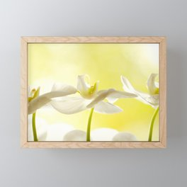 Three Ballerinas #decor #society6 #buyart Framed Mini Art Print