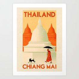 Thailand - Chiang Mai Art Print