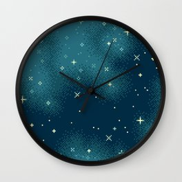 Northern Skies IV Wall Clock