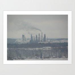 Manufacturing Art Print