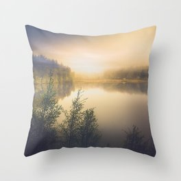 The perfect organism Throw Pillow