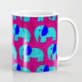 pink sky elephant ecopop Coffee Mug