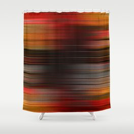 """Abstract Autumn Porstroke (Pattern)"" Shower Curtain"