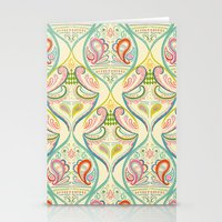 carnival Stationery Cards featuring Carnival by Pim-Pimlada Studio