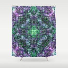 Sandala Emerald & Lavender Shower Curtain
