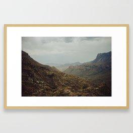 Lost Mine Trail Framed Art Print