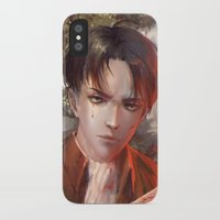levi iPhone & iPod Cases featuring Levi SnK by x3uu