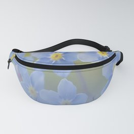 Forget-me-not flowers - summer beauty #society6 #buyart Fanny Pack