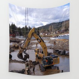 River Work Wall Tapestry