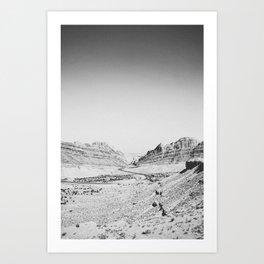 SPOTTED WOLF CANYON / Utah Art Print