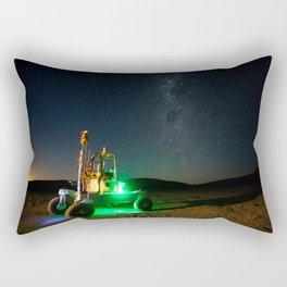 95. Rover Under the Milky Way - Atacama Rover Astrobiology Drilling Studies Rectangular Pillow