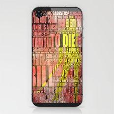 Kill Bill redux iPhone & iPod Skin