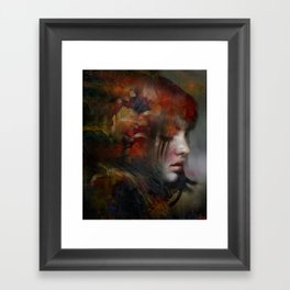 The medium Framed Art Print