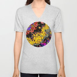 Shifting Shapes And Colors Unisex V-Neck