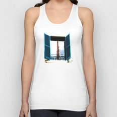 Window to the Present Unisex Tank Top