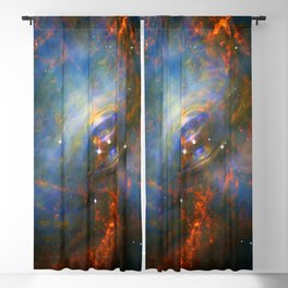 Beating Heart of the Crab Nebula Blackout Curtain