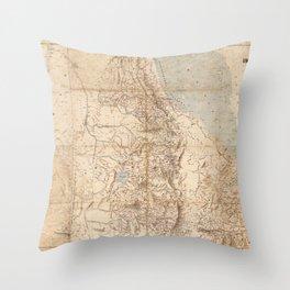 Eritrea 1896 Throw Pillow