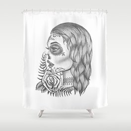 Departed Soul Shower Curtain