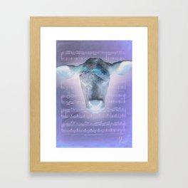 Vache! Framed Art Print