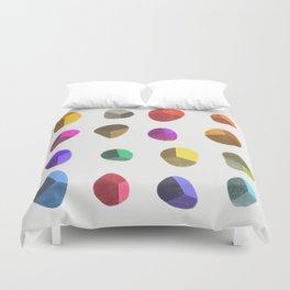 Painted Pebbles 2 Duvet Cover