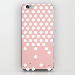 polka dots bounce iPhone Skin