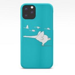 I'm like a swan iPhone Case