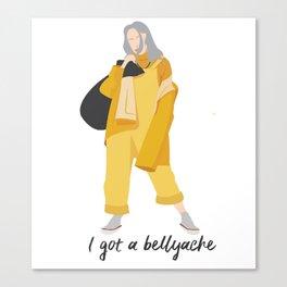 Billie Eilish Bellyache Canvas Print