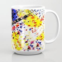 Retro Les Paul guitar Coffee Mug