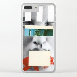 Untitled Composition 750 Clear iPhone Case